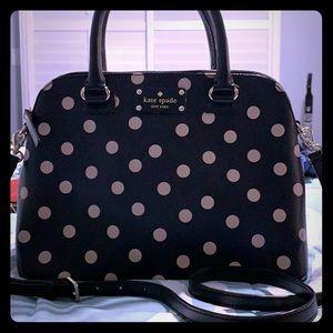 Kate spade polkadot purse